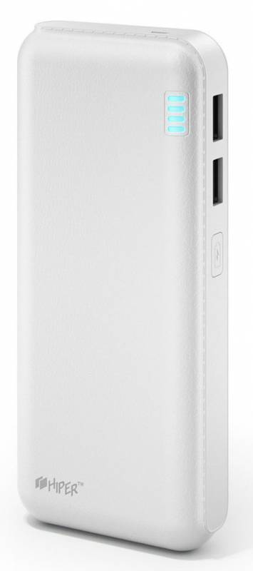 Аккумулятор USB 20000MAH SP20000 WHITE HIPER