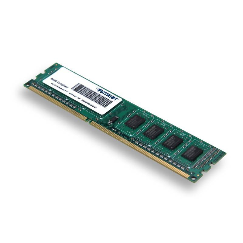 Память DDR3 Patriot 2Gb 1600MHz PSD32G160081 RTL PC3-12800 CL11 DIMM 240-pin 1.5В