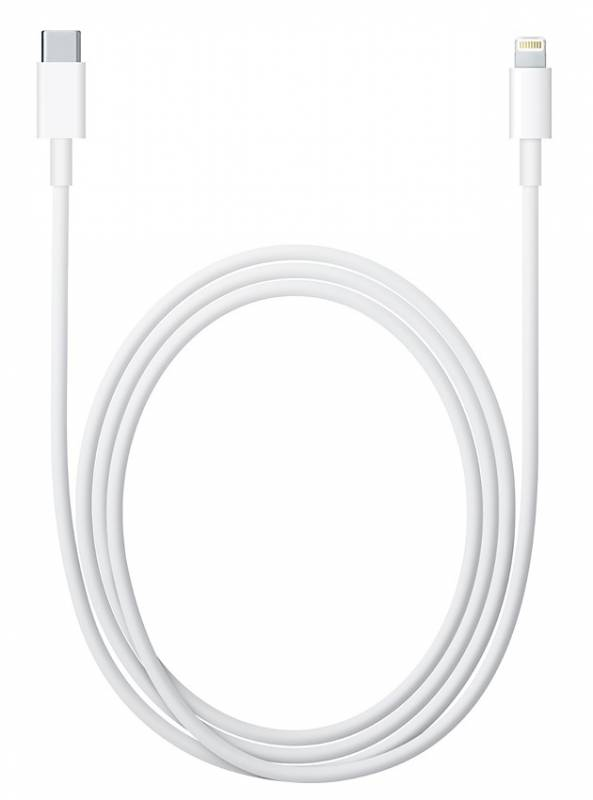 Кабель Apple MKQ42ZM/A USB-C-Lightning белый 2м для Apple iPhone 5/5c/5S/6/6+ для Apple iPad 4/mini/
