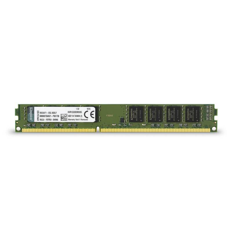 Память DDR3 KINGSTON 8Gb 1333MHz KVR1333D3N9/8G RTL PC3-10600 CL9 DIMM 240-pin 1.5В