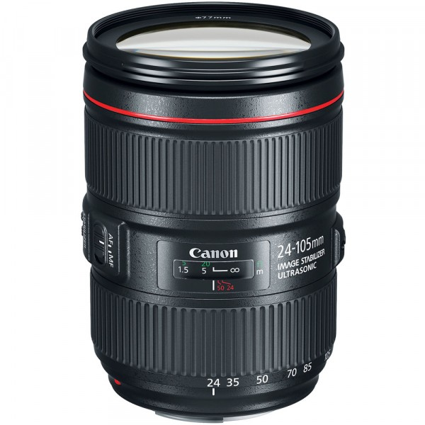 Объектив Canon EF IS II USM (1380C005) 24-105мм f/4L
