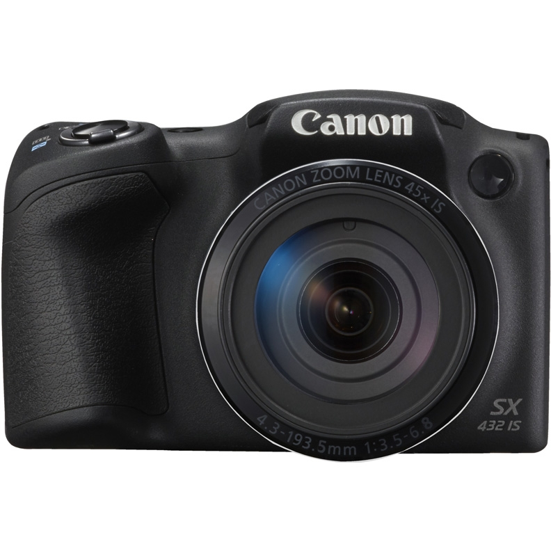 Фотоаппарат Canon PowerShot SX430 IS черный 20.5Mpix Zoom45x 3