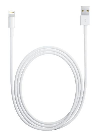 Кабель Apple MD819ZM/A USB-Lightning белый 2м для Apple iPhone 5/5c/5S для Apple iPad 4/mini/Air