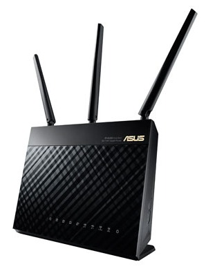 Wi-Fi Маршрутизатор Asus RT-AC68U 10/100/1000BASE-TX