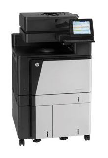 МФУ лазерный HP Color LaserJet Enterprise Flow M880z+ (A2W76A) A3 Duplex Net черный/белый