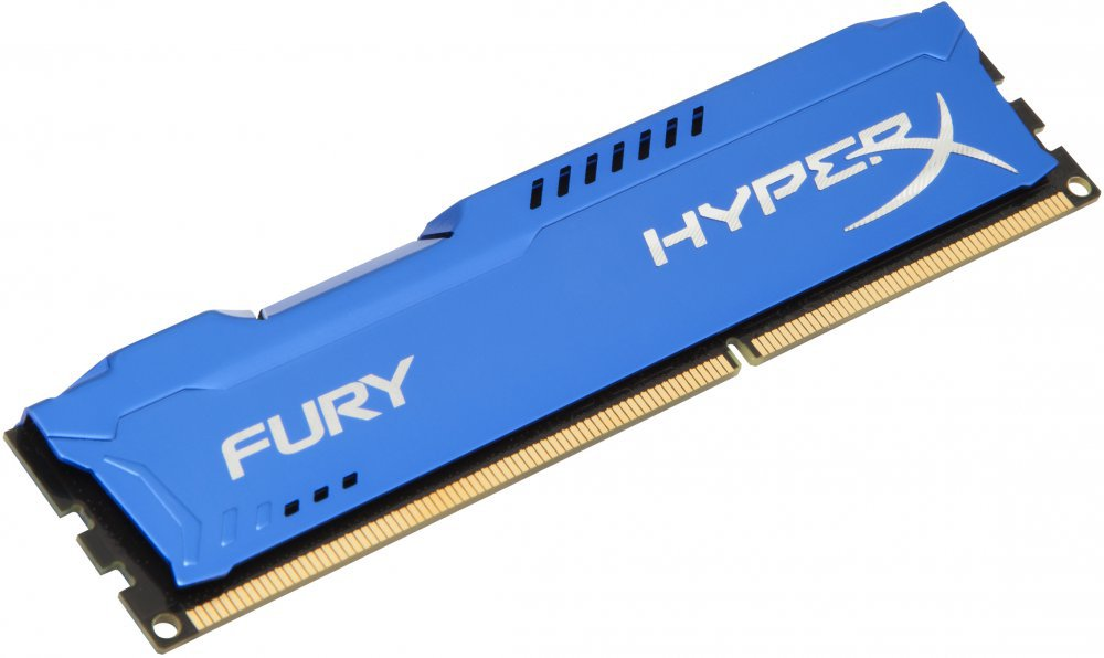 Память DDR3 KINGSTON 4Gb 1333MHz (HX313C9F/4) HyperX FURY Blue, Non-ECC, CL9, Retail