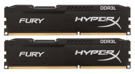 Память DDR3 KINGSTON 2x8Gb 1866MHz HyperX Fury  HX318LC11FBK2/16