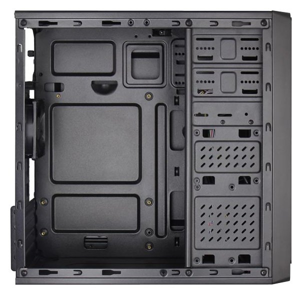 Корпус Aerocool Cs-100 Advance Black , mATX, черный без БП [EN55217]