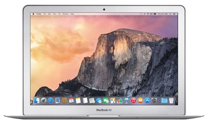 Ноутбук Apple MacBook Air серебристый (MQD32RU/A)