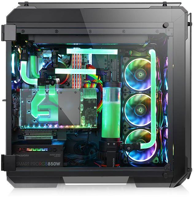Корпус Thermaltake View 71 TG RGB Black (CA-1I7-00F1WN-01)