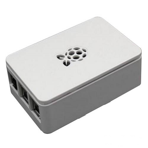 Корпус RA178 ACD White ABS Plastic case with Logo for Raspberry Pi 3
