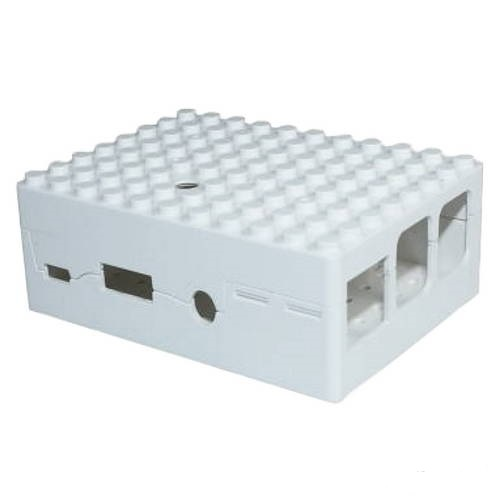 Корпус RA181 ACD White ABS Plastic Building Block case for Raspberry Pi 3