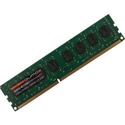 Память DDR3 QUMO 4GB (PC3-12800) 1600MHz QUM3U-4G1600K11(R) {256x8chips}