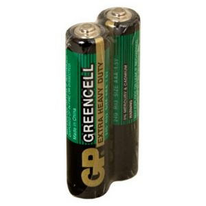Батарея солевая GP Greencell 24G-OS2 AAA 40/200/1000 (2шт)