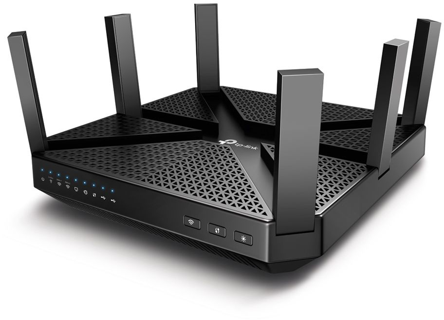Маршрутизатор TP-LINK Archer C4000 AC4000 Tri-Band Wi-Fi Router,Broadcom 1.8GHz Qual-Core CPU,  1625
