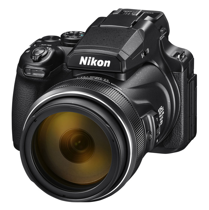 Фотоаппарат Nikon Coolpix P1000 Black <16.8Mp, 125x zoom, 3,2