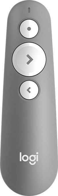 Презентер (910-005387)  Logitech Wireless Presenter R500 MID GREY