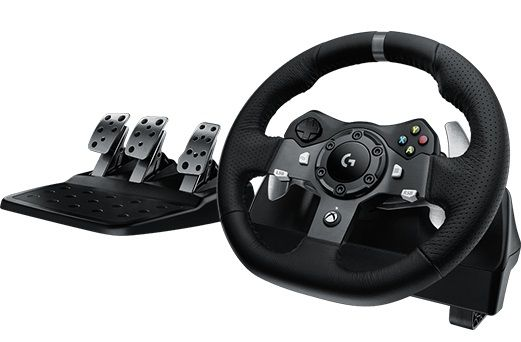 Руль (941-000123) Logitech G920 Driving Force Racing Wheel USB