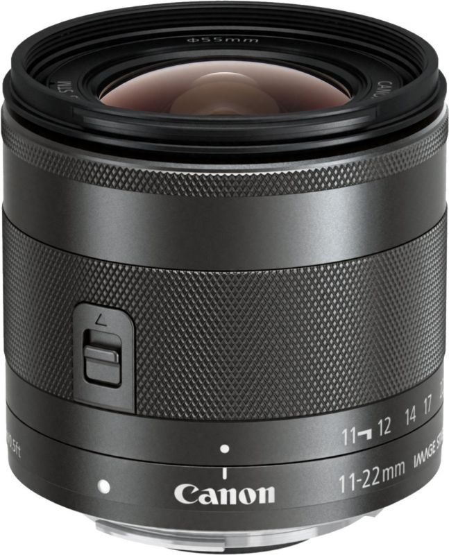 Объектив Canon EF-M IS STM (7568B005) 11-22мм f/4-5.6 черный