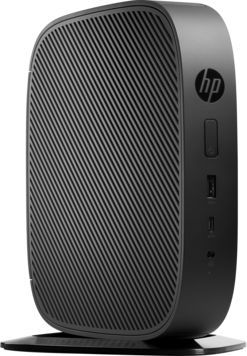 Тонкий Клиент HP Flexible t530 slim GX-215JJ (1.5)/4Gb/SSD8Gb/Radeon R2E/HP Smart Zero 32/GbitEth/Wi