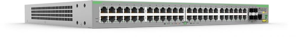 Allied Telesis 48 x 10/100T POE+ ports and 4 x 100/1000X SFP (2 for Stacking), Fixed AC power supply